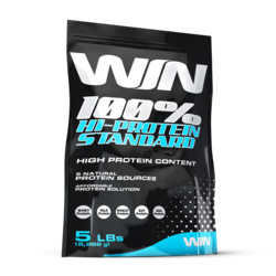 Medium win nutrition 100 hi protein standard 5lbs 2268 g 1
