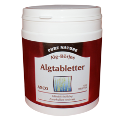 Medium algtabletter asco 1000 tabletter alg borjes 1