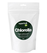 Medium chlorella pulver 23 med