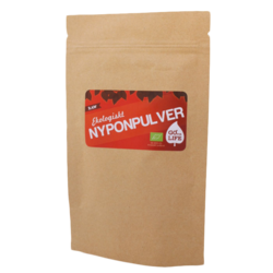 Medium go for life raw nyponpulver eko 290 gram go for life 1