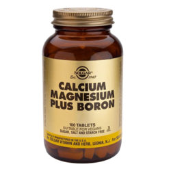 Medium calcium magnesium bor 100 tabletter solgar 1