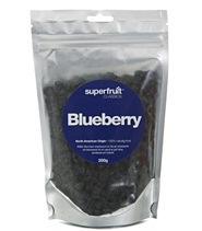 Medium blueberries bar med