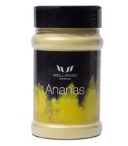Medium ananas smoothiepulver eko 10355 med
