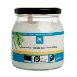 Medium kokosolja eko 425 ml urtekram 1