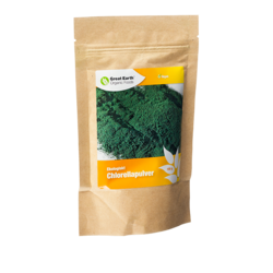 Medium chlorella pulver