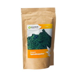 Medium spirulina pulver