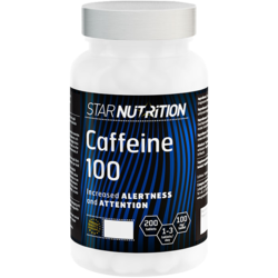 Medium caffeine 100 mg 200 tabs star nutrition 1