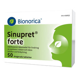 Medium sinupret forte 50 tabletter bringwell 1