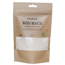 Medium maca pulver rod eko 200 g