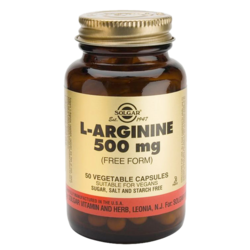 Medium l arginine 500mg solgar 1