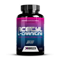 Medium xcore acetyl l carnitine 90 caps 1