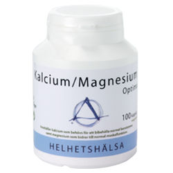 Medium kalcium magnesium optimal 100 kapslar helhetshalsa 1