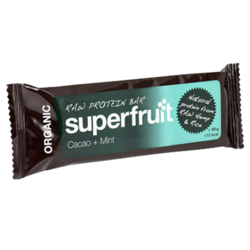 Medium raw protein bar eko 50 gram superfruit 1
